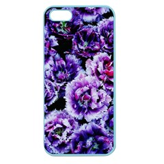 Purple Wildflowers Of Hope Apple Seamless Iphone 5 Case (color) by FunWithFibro