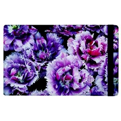 Purple Wildflowers Of Hope Apple Ipad 2 Flip Case by FunWithFibro