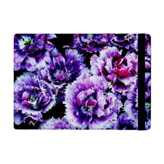 Purple Wildflowers Of Hope Apple Ipad Mini Flip Case by FunWithFibro