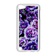 Purple Wildflowers Of Hope Apple Ipod Touch 5 Case (white) by FunWithFibro