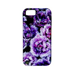 Purple Wildflowers Of Hope Apple Iphone 5 Classic Hardshell Case (pc+silicone) by FunWithFibro