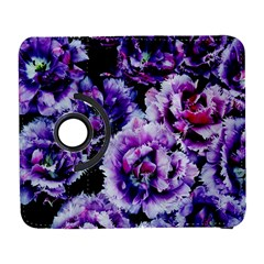 Purple Wildflowers Of Hope Samsung Galaxy S  Iii Flip 360 Case by FunWithFibro