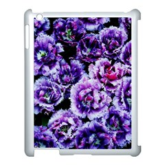 Purple Wildflowers Of Hope Apple Ipad 3/4 Case (white) by FunWithFibro