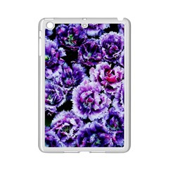 Purple Wildflowers Of Hope Apple Ipad Mini 2 Case (white) by FunWithFibro