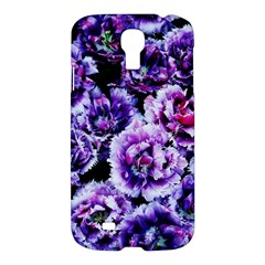 Purple Wildflowers Of Hope Samsung Galaxy S4 I9500/i9505 Hardshell Case by FunWithFibro