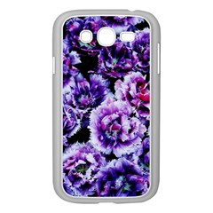 Purple Wildflowers Of Hope Samsung Galaxy Grand Duos I9082 Case (white) by FunWithFibro