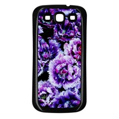Purple Wildflowers Of Hope Samsung Galaxy S3 Back Case (black) by FunWithFibro