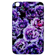 Purple Wildflowers Of Hope Samsung Galaxy Tab 3 (8 ) T3100 Hardshell Case  by FunWithFibro