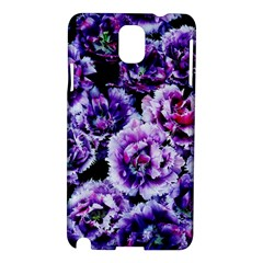 Purple Wildflowers Of Hope Samsung Galaxy Note 3 N9005 Hardshell Case by FunWithFibro