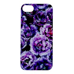 Purple Wildflowers Of Hope Apple Iphone 5s Hardshell Case by FunWithFibro
