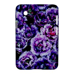 Purple Wildflowers Of Hope Samsung Galaxy Tab 2 (7 ) P3100 Hardshell Case  by FunWithFibro