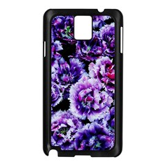 Purple Wildflowers Of Hope Samsung Galaxy Note 3 N9005 Case (black) by FunWithFibro