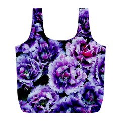 Purple Wildflowers Of Hope Reusable Bag (l) by FunWithFibro