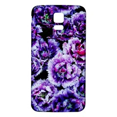 Purple Wildflowers Of Hope Samsung Galaxy S5 Back Case (white)