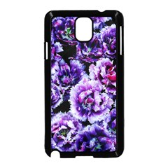 Purple Wildflowers Of Hope Samsung Galaxy Note 3 Neo Hardshell Case (black) by FunWithFibro