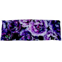Purple Wildflowers Of Hope Body Pillow (dakimakura) Case (two Sides) by FunWithFibro