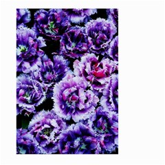 Purple Wildflowers Of Hope Large Garden Flag (two Sides) by FunWithFibro