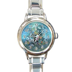 Led Zeppelin Iii Art Round Italian Charm Watch