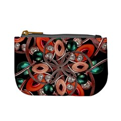 Luxury Ornate Artwork Coin Change Purse by dflcprints