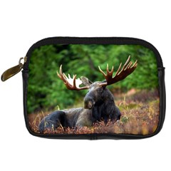 Majestic Moose Digital Camera Leather Case by StuffOrSomething