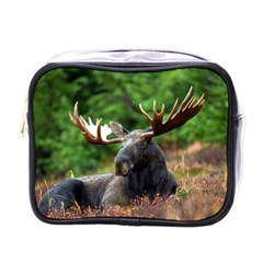 Majestic Moose Mini Travel Toiletry Bag (one Side) by StuffOrSomething