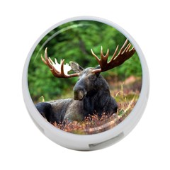 Majestic Moose 4 Port Usb Hub (two Sides) by StuffOrSomething