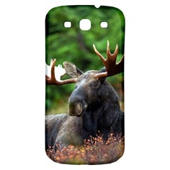 Majestic Moose Samsung Galaxy S3 S Iii Classic Hardshell Back Case by StuffOrSomething