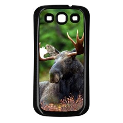 Majestic Moose Samsung Galaxy S3 Back Case (black) by StuffOrSomething