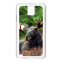 Majestic Moose Samsung Galaxy Note 3 N9005 Case (white) by StuffOrSomething