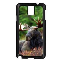 Majestic Moose Samsung Galaxy Note 3 N9005 Case (black) by StuffOrSomething