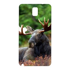 Majestic Moose Samsung Galaxy Note 3 N9005 Hardshell Back Case by StuffOrSomething