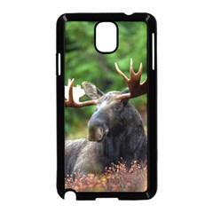 Majestic Moose Samsung Galaxy Note 3 Neo Hardshell Case (black) by StuffOrSomething