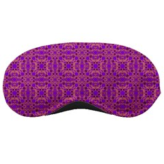 Purple Moroccan Pattern Sleeping Mask by SaraThePixelPixie