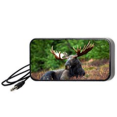 Majestic Moose Portable Speaker (black) by StuffOrSomething