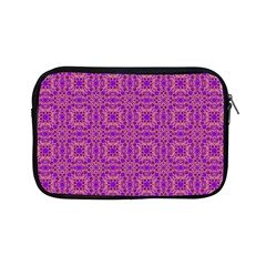 Purple Moroccan Pattern Apple Ipad Mini Zippered Sleeve by SaraThePixelPixie