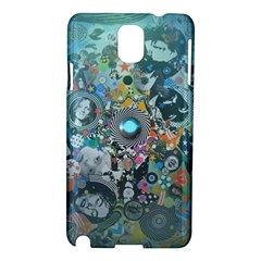 Led Zeppelin Iii Digital Art Samsung Galaxy Note 3 N9005 Hardshell Case by SaraThePixelPixie