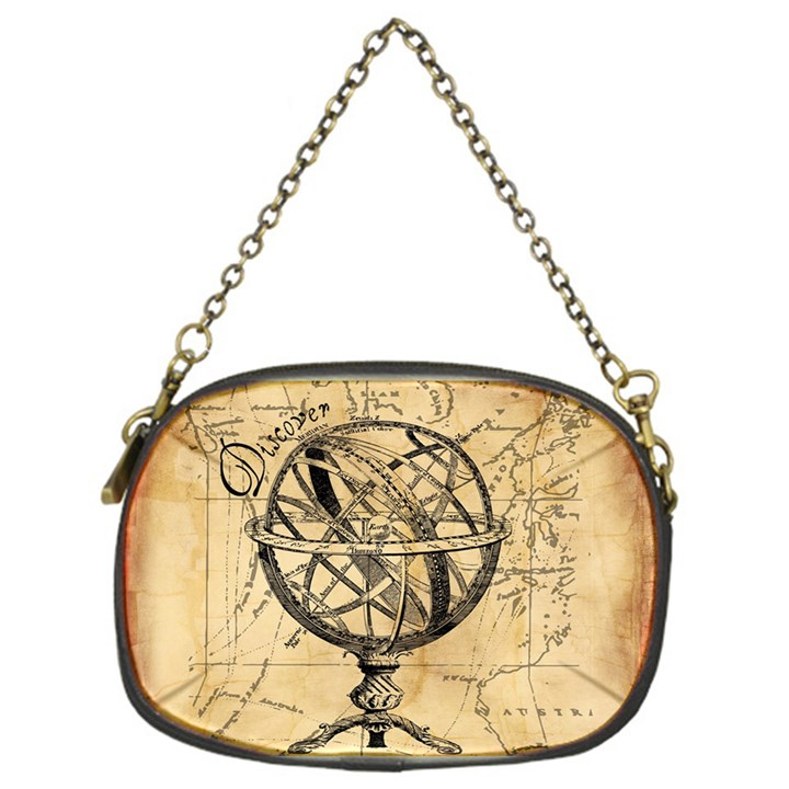 Discover The World Chain Purse (One Side)