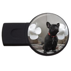 French Bulldog 2gb Usb Flash Drive (round) by StuffOrSomething