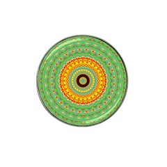 Mandala Golf Ball Marker 4 Pack (for Hat Clip) by Siebenhuehner