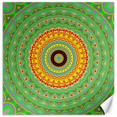 Mandala Canvas 20  X 20  (unframed) by Siebenhuehner