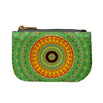 Mandala Coin Change Purse Front