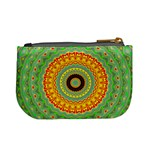 Mandala Coin Change Purse Back