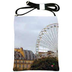 Paris Ferris Wheel Shoulder Sling Bag