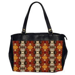 Jeweled Earth Oversize Office Handbag (two Sides)
