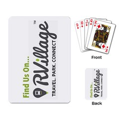 Rvillage Playing Cards Single Design