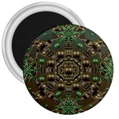 Japanese Garden 3  Button Magnet by dflcprints