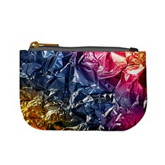 Texture   Rainbow Foil By Dori Stock Coin Change Purse