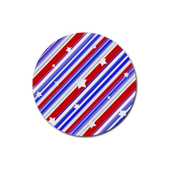 American Motif Drink Coaster (round) by dflcprints