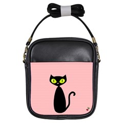 One Cool Cat Girl s Sling Bag
