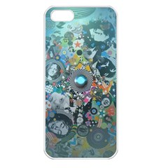 Led Zeppelin Iii Digital Art Apple Iphone 5 Seamless Case (white) by SaraThePixelPixie